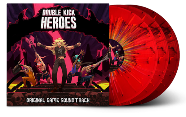 Double Kick Heroes l'édition Vinyle qui te met un coup de fouet