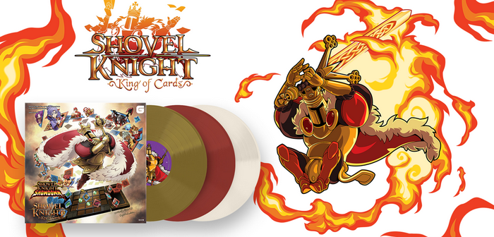 La bande-son de Shovel Knight King of Cards arrive au format triple vinyle !