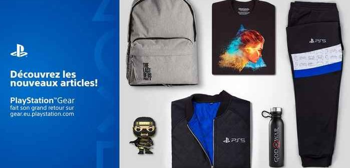 Le PlayStation Gear Store fait son grand retour en France !