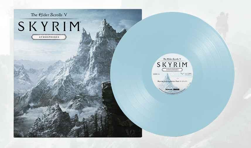 Retour à Bordeciel avec le vinyle Skyrim Atmospheres !