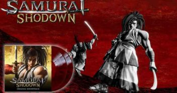 Samurai Shodown un double vinyle rouge-sang...