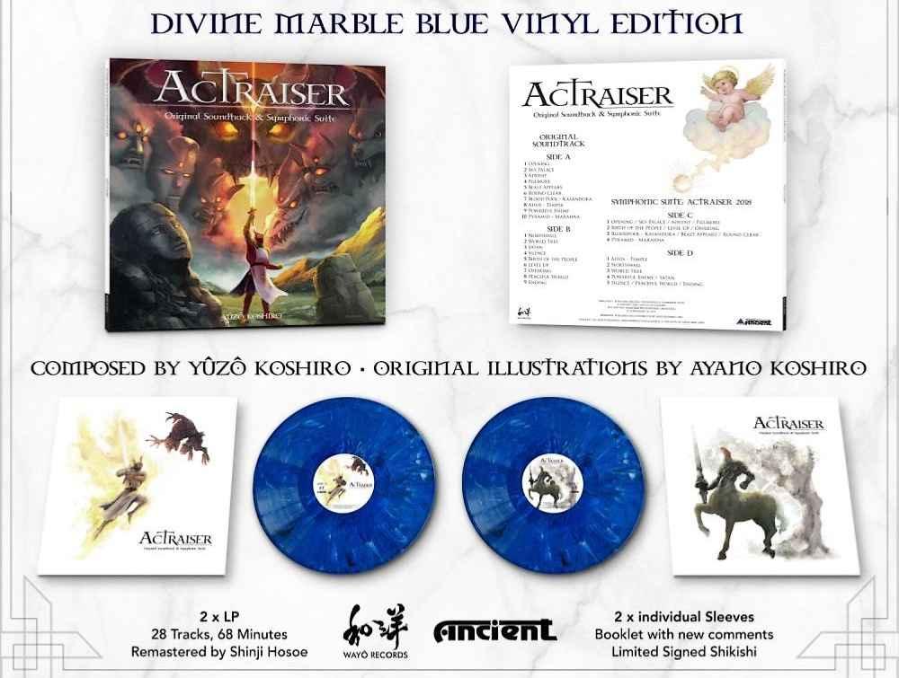 ActRaiser, jeu culte sur Super-Nintendo, célèbre ses 30 ans avec un vinyle !