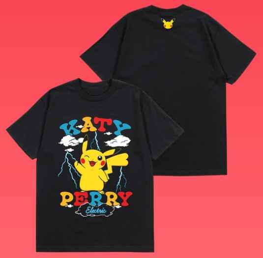 Katy Perry révèle le clip de son nouveau titre Electric avec Pikachu