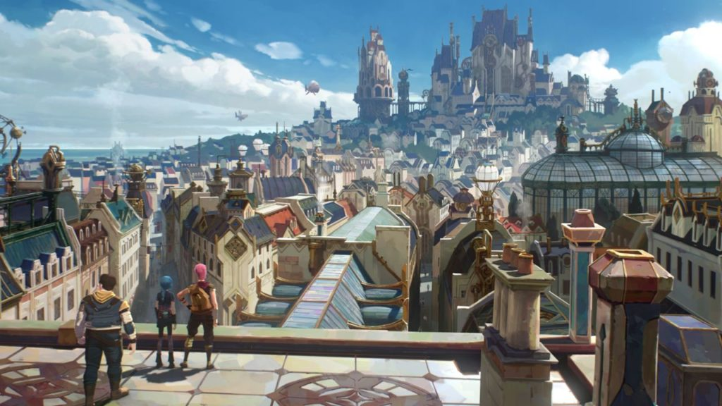 Netflix et Riot Games lancent Arcane la série animée League of Legends !