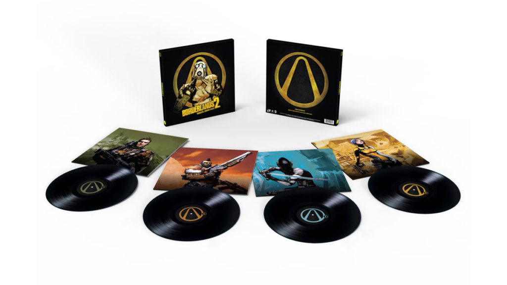 Un coffret 4 vinyles pour Borderlands 2 !